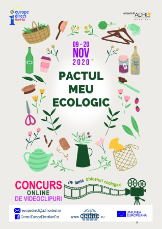 Concurs Europe Goes Green - Pactul meu ecologic